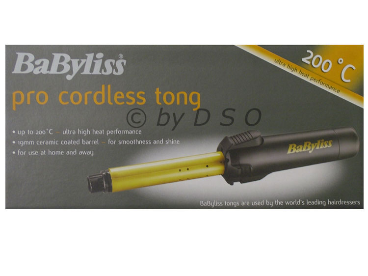 Babyliss Pro Cordless Portable Gas Tong 2583bu New