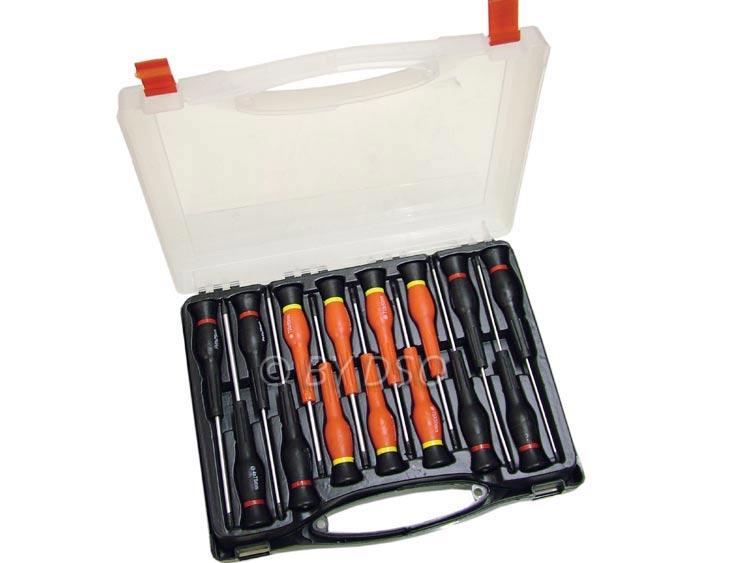 screwdrivers precision screwdriver set torx slotted phillips garage equipment. Black Bedroom Furniture Sets. Home Design Ideas