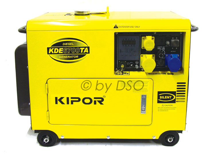 Kipor Super Silent Diesel Generator with ATS Enabled