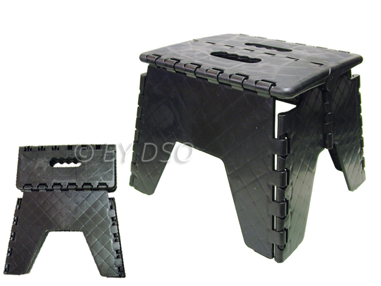 Small Fold Away Collapsible Folding Step Stool Handy Multi