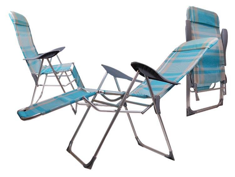 Redwood Leisure Textoline Reclining Chair in Mesh Fabric and Metal Frame and