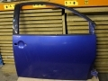 VW Beetle 98-2005 Used Offside Drivers Door in Techno Blue LW5Y 1C0831051NLW5Y