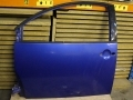 VW Beetle 98-2005 Used Nearside Passenger Door in Techno Blue 1C0831052NLW5Y