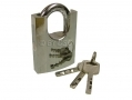 Tool-Tech 50mm High Grade Security Closed Shank Brass Padlock with 3 Security Keys 10840 *Out of Stock*