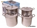 Prima 4pc Stainless Steel Stock Pot Set 11041C (all to go back to manufactuer not good quality)