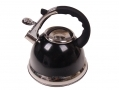 Prima 3.5L Stainless Steel Whistling kettle with Silicone Handle in Black 11173C *Out of Stock*