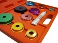 Professional 11 Piece Bearing Race / Seal Driver Kit Colour Coded 1243ERACC