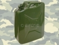 Professional Trade Quality 20 Litre Jerry can Metal in Green 1262ERA *Out of Stock*