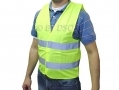 Tool-Tech High Visibility Safety Vest Waistcoat Medium 14580