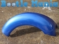 VW Beetle 99-2005 Used Nearside Rear Wing in Techno Blue LW5Y 1C0821301LW5Y