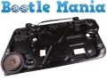 Beetle 1999-2010 Not Convertible Window Regulator no Motor Drivers Side Door 1C0837656C