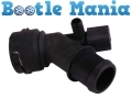Beetle 99-10 Convertible 03-10 Radiator Bottom Hose Manual Quick Connect 1.6 2.0 1J0121619A