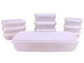 10 Piece Plastic Storage Box Set *Out of Stock*