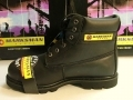 Marksman Safety / Camping Boots Black Size 12 GM88B12
