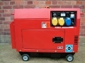 Marksman 4.2 kw Silent Diesel Air Cooled Generator 66080C *Out of Stock*