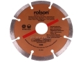Rolson 115 mm Segmented Diamond Disc Dry Cutting 24394C