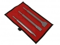 Spare 3 Piece Hammer Chisel Set to Fit 0721ERA and 0722ERA in Canvas Case 2814ERA