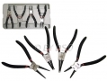 "HILKA 4 Piece Circlip Plier Set 7"" Inch Internal and External HIL28500004 *Out of Stock*"