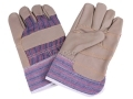 Furniture Rigger Hide Riggers Gloves x 10 Pairs Furniture Gloves - New *Out of Stock*
