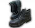 Walklander Flexible Sole Safety Boots with Steel Toe Caps in Black Size 10 300-10548