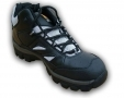 Walklander Flexible Safety Trainers Lace Up with Steel Toe Caps in Black Size 11 WL-344-BLACK-11