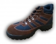 Walklander Flexible Safety Trainers Lace Up with Steel Toe Caps in Brown Size 8 36-3WL-BROWN-08