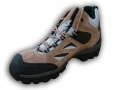 Walklander Flexible Safety Trainers Lace Up with Steel Toe Caps in Khaki Size 8 WL-344-KHAKI-08