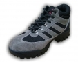Walklander Flexible Safety Trainers Lace Up with Steel Toe Caps in Grey Size 8 3WL-36-GREY-08