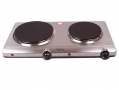 Elpine Stainless Steel 2250w Twin Hotplate Thermo Controlled Variable Heat 31343C *Out of Stock*