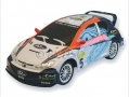 """Gtec\"" *Ford Focus Colours 206 WRC White (No Batteries included - Non runner)"