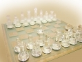 Deluxe Extra Large Glass Chess Set 45 x 45cms FI-999305 *OUT OF STOCK*