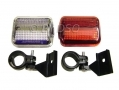 PIFCO Front and Rear Bicycle Bike Lamp Light Set BML50410