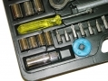 Marksman 61 Piece Carbon Steel Socket and Tool Set 52020C