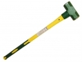 8Lb Sledge Hammer with Fibre Handle and Cushioned Rubber Grip 53010C *Out of Stock*