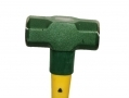 8Lb Sledge Hammer with Fibre Handle and Cushioned Rubber Grip 53010C