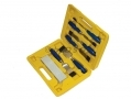 7 Piece Wood Chisel and Sharpening Stone Set 56021C *Out of Stock*