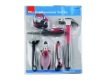 Hilka 6 pce Home Tool DIY Kit - Wrench, Screwdriver set, Hammer and Measuring tape included HIL60300006