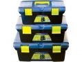 Hamble Set of 3 in Toolboxes with Inner Trays TC405