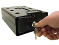 Roadster High Security Portable Safe Travel Cash Money Box with 2 Keys 66190C *Out of Stock*
