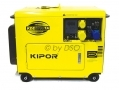 Kipor Super Silent Diesel Generator with ATS Enabled (Automatic Transfer Switch) 5KVA 6700TA