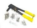 Hand Rivet Gun and 60 rivets 2.4mm, 3.2mm, 4.2mm and 4.8mm with 4 Heads 68000C *Out of Stock*