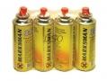 Marksman 227g Butane Gas Refill x 4 tins 68238C *Out of Stock*