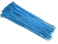 50 Piece 12 inch 300mm Nylon Cable Ties Blue 68322C