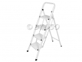 Tool-Tech Extra Sturdy Lightweight 4 Tread Step Ladder 150Kg with Deep Threads GS TUV BML68490 *Out of Stock*