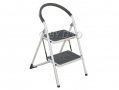 Tool-Tech Lightweight Extra Wide 2 Tread Step Ladder with Foam Protector 150Kg BML68560 *Out of Stock*
