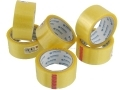 6 Pack 66 Meters Per Roll Stationary Tape 48 mm Wide 72061C
