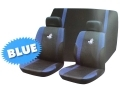 Roadstar WRX 6 Pc Car Seat Cover Set Blue Black 81070C