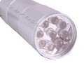 Mini 9 LED Pocket Torch Silver