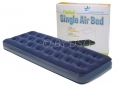 Milestone Camping  Flocked Single Air Bed 185 x 72cm BML88000