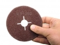 Trade Quality 50 Piece 36 Grit 115mmm Fibre Sanding Discs AB148